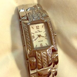 Lucien Piccard silver watch